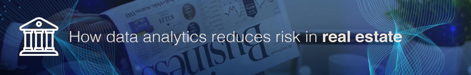 Data analytics risk debt funders