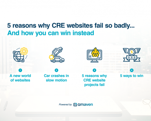 5 reasons CRE website projects