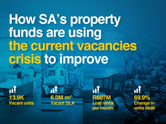 SA property funds office vacancies crisis